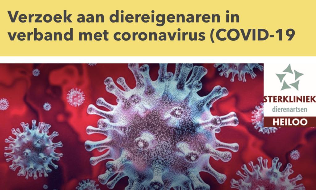 dierenarts in tijden van het Coronavirus