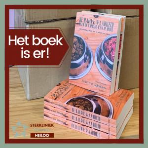 Boek van dierenarts Erwin van Gijtenbeek de rauwe waarheid over de voeding van je hond