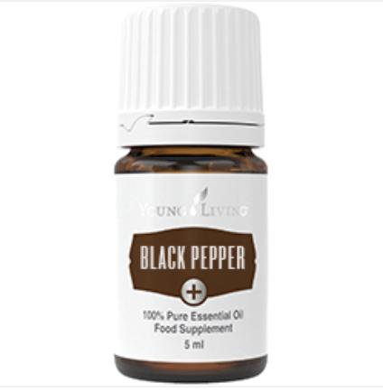 Essentiële olie Black Pepper van Young Living